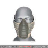 Lancer Tactical Half Mesh Padded Nylon Lower Face Mask AC-642ACU - ACU Face Masks- ModernAirsoft.com