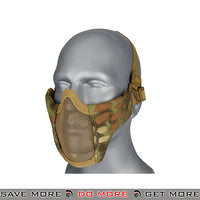 Lancer Tactical Half Mesh Padded Nylon Lower Face Mask AC-642M - Mandrake Face Masks- ModernAirsoft.com