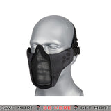 Lancer Tactical Half Mesh Padded Nylon Lower Face Mask AC-642TP - Typhon Face Masks- ModernAirsoft.com