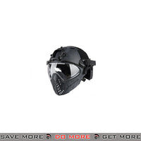 WoSporT Tactical Piloteer Bump Helmet & Mask w/ Adapter - Kryptec Typhoon Head - Helmets- ModernAirsoft.com