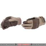 ACM Airsoft Hard Knuckle Reinforced Assault Gloves Full Finger AC-802 - Tan Gloves- ModernAirsoft.com