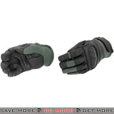 ACM Airsoft Kevlar Hard Knuckle Protection Full Finger Gloves AC-809 - Sage Gloves- ModernAirsoft.com