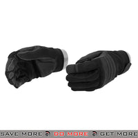 ACM Airsoft OPS Tactical Padded Gloves Full Finger AC-810 - Black Gloves- ModernAirsoft.com