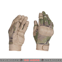 ACM Airsoft Hard Knuckle Reinforced Assault Gloves Full Finger AC-813 - Camo Gloves- ModernAirsoft.com