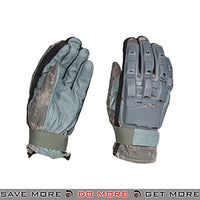 ACM Airsoft Paintball Armored Reinforced Assault Full Finger Gloves AC-814 - ACU Gloves- ModernAirsoft.com