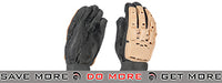 Airsoft Paintball Armored Reinforced Assault Gloves Full Finger (Tan) Gloves- ModernAirsoft.com