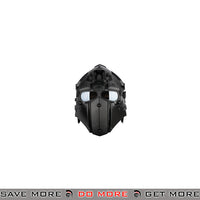 WoSporT Tactical Helmet w/ NVG & Transfer Base - Black