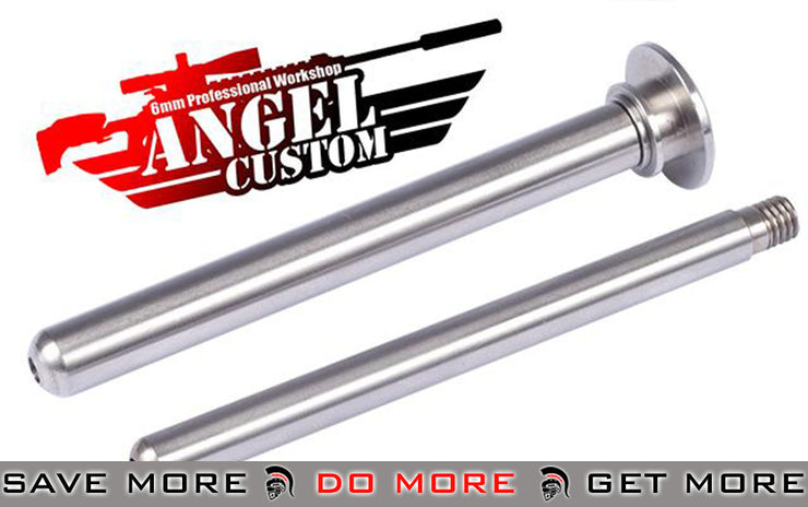 Angel Custom Steel Spring Guide w/ Ball Bearing (7mm and 9mm) APS2 Type 96 First Factory PSS2 Stainless CNC Spring Guides- ModernAirsoft.com