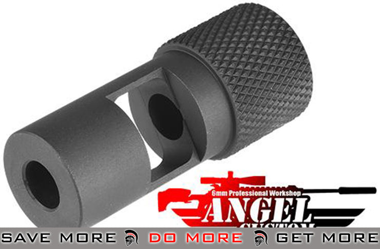 Angel Custom CNC SPR Type Flash Hider for Airsoft Sniper Rifles & AEG (14mm-) Flash Hiders- ModernAirsoft.com