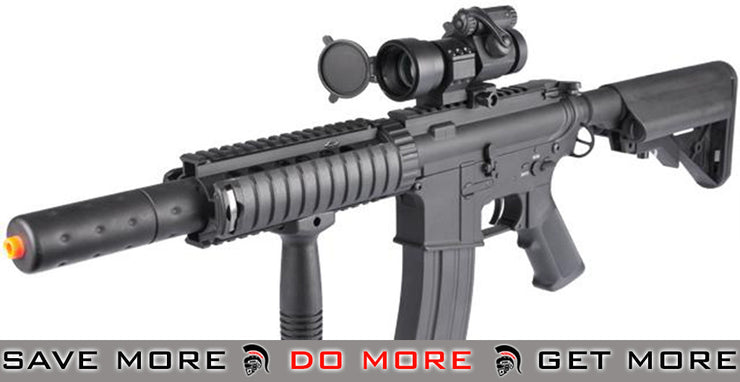 New Gen. Dboy Full Metal M4 Airsoft AEG w/ Jungle Series CQB-SD Kit Installed A&K- ModernAirsoft.com