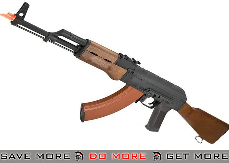 CYMA AK74-M Airsoft AEG Rifle (Imitation Wood Furniture) AK47 / AK74 / AK105- ModernAirsoft.com