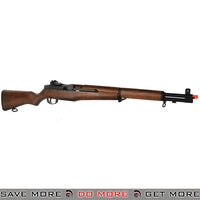 ICS M1 Garand Airsoft AEG Rifle Real Wood Stock -