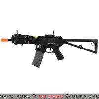 Lancer Tactical KAC Full Metal PDW Airsoft AEG Rifle