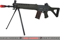G&G Top Tech Swiss Arms Licensed GS550 Airsoft AEG Rifle w/ Side Folding Stock (OD Green) G&G Standard- ModernAirsoft.com