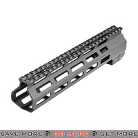 "AIM Sports 10"" CNC Machined Aluminum AR / M4 M-LOK Handguard AIM-MTMC01 - Black RIS / RAS / Rails- ModernAirsoft.com"