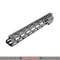 "AIM Sports 13.5"" CNC Machined Aluminum AR / M4 M-LOK Handguard AIM-MTMM02 - Black RIS / RAS / Rails- ModernAirsoft.com"