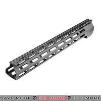 "AIM Sports 15"" CNC Machined Aluminum AR / M4 M-LOK Handguard AIM-MTMR03 - Black RIS / RAS / Rails- ModernAirsoft.com"