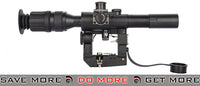 APL-ASP3004 AMP 4X26 SVD Dragunov Scope W/ PSO-1 Reticle - Black Scopes- ModernAirsoft.com