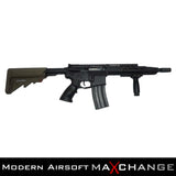 MaxChange Used APS ASR112 Electric Blowback Airsoft M4 AEG