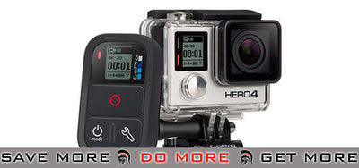 GoPro HERO5 Black, HERO5 Session, HERO4 Black, HERO4 Silver, HERO4 Session, HERO+ LCD Smart Remote GoPro / Cameras / Acc.- ModernAirsoft.com