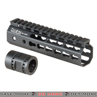 Ares 7in Airsoft Keymod Handguard - ARES-KM-006S-BK