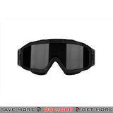 Bobster Airsoft Alpha ANSI Z87 Ballistic Rated Tactical Goggles w/ 2 Lenses BAL-BALP101 - Black Head - Goggles- ModernAirsoft.com