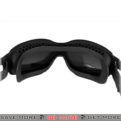 Bobster Airsoft Bravo ANSI Z87 Ballistic Rated Tactical Goggles w/ 3 Lenses BAL-BBRA101 - Black Head - Goggles- ModernAirsoft.com