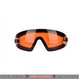 Bobster Airsoft Wrap Around Frameless Safety Goggles BAL-BW201A - Amber Lens Head - Goggles- ModernAirsoft.com