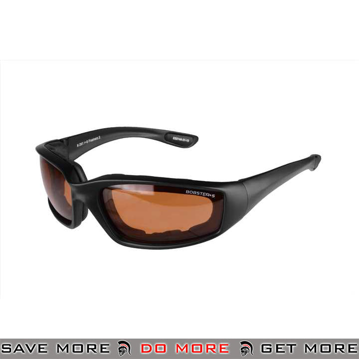 Bobster Foamerz 2 Full Seal ANSI Z87 Rated Eye Protection Tactical Goggles BAL-ES214A - Amber Lens Head - Goggles- ModernAirsoft.com
