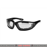 Bobster Foamerz 2 Full Seal ANSI Z87 Rated Eye Protection Tactical Goggles BAL-ES214C - Clear Lens Head - Goggles- ModernAirsoft.com