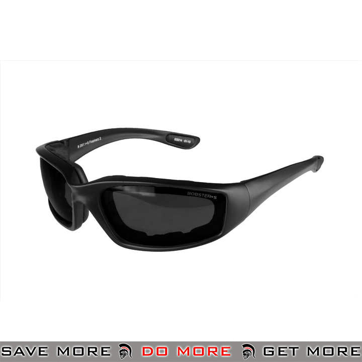 Bobster Foamerz 2 Full Seal ANSI Z87 Rated Eye Protection Tactical Goggles BAL-ES214 - Smoke Lens Head - Goggles- ModernAirsoft.com