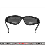 Bobster Shield III ANSI Z87 Rated Shooting Glasses BAL-ESH301 - Smoke Lens Head - Goggles- ModernAirsoft.com