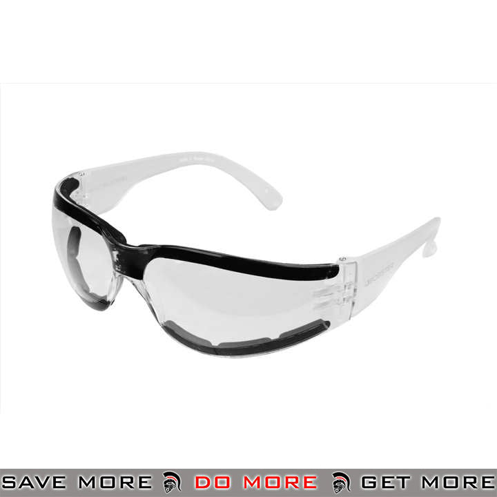 Bobster Shield III ANSI Z87 Rated Shooting Glasses BAL-ESH302 - Clear Lens Head - Goggles- ModernAirsoft.com