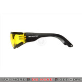 Bobster Shield III ANSI Z87 Rated Shooting Glasses BAL-ESH303 - Yellow Lens Head - Goggles- ModernAirsoft.com