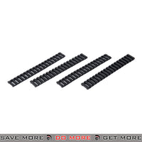 "DBoys 7"" in. Tactical Airsoft 20mm Rubber Rail Covers Set BI-07 - 4 pcs, Black Rail Accessories- ModernAirsoft.com"