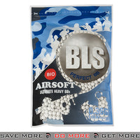 BLS 1000ct Biodegradable Perfect 0.36g White Airsoft BIO BBs - BLS-1BA-PLA36