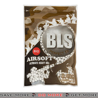 BLS 1000ct Biodegradable Perfect 0.40g White Airsoft BIO BBs - BLS-1BA-PLA4