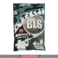 BLS 1000ct Biodegradable Perfect 0.45g White Airsoft BIO BBs - BLS-1BA-PLA45