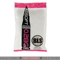 BLS 3500ct High Precision Perfect 0.28g White Airsoft BBs - BLS-1KG-H28