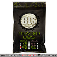 BLS 3500rd Perfect 0.28g 6mm Green Airsoft BIO Tracer BBs - BLS-1KG-PLATR28G