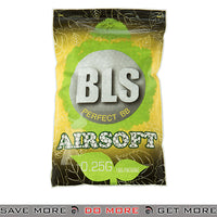 BLS 4000ct Biodegradable Perfect 0.25g White Airsoft BIO BBs - BLS-4BA-PLA25