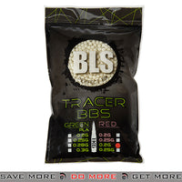 BLS 5000ct Perfect 0.20g 6mm Green Airsoft Tracer BBs - BLS-1KG-TR2G