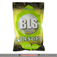 BLS 5000ct High Precision Perfect Biodegradable 0.20g White Airsoft BIO BBs