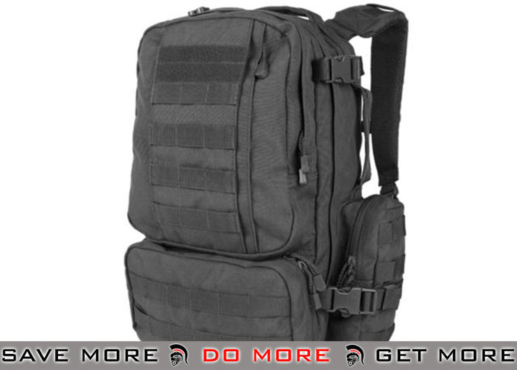 Condor Black Convoy Tactical Outdoor Pack Backpacks- ModernAirsoft.com