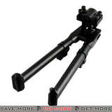 AIM Sports Real Steel Universal Barell Mount Tactical Bipod Bipods- ModernAirsoft.com