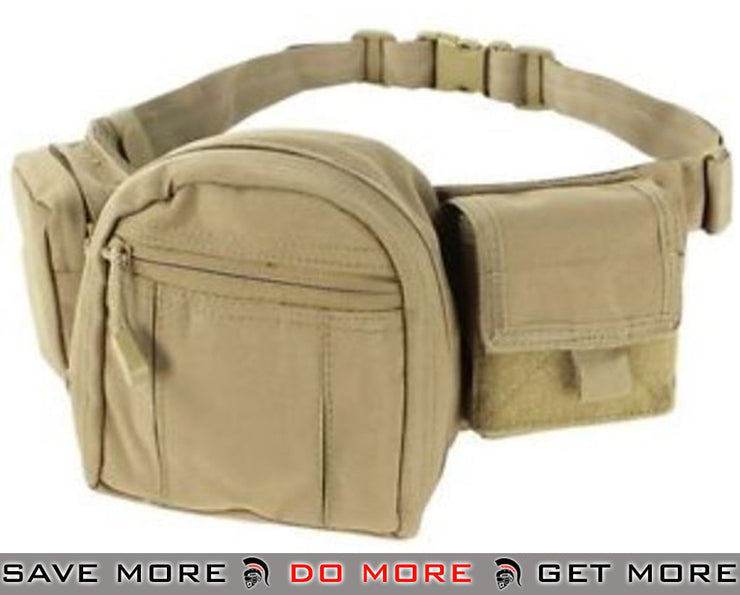 Condor Tan Tactical Fanny Pack Waist Packs- ModernAirsoft.com