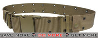 Condor Tan Military Style Type Alice Sys. Quick Release Tactical Pistol Belt Belts- ModernAirsoft.com