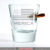Merica Bullet Shot Glass 1.5oz