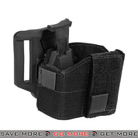 Lancer Tactical Universal Pistol Belt Holster CA-1114B - Black Holsters - Fabric- ModernAirsoft.com