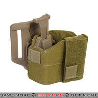 Lancer Tactical Universal Pistol Belt Holster CA-1114T - Tan Holsters - Fabric- ModernAirsoft.com